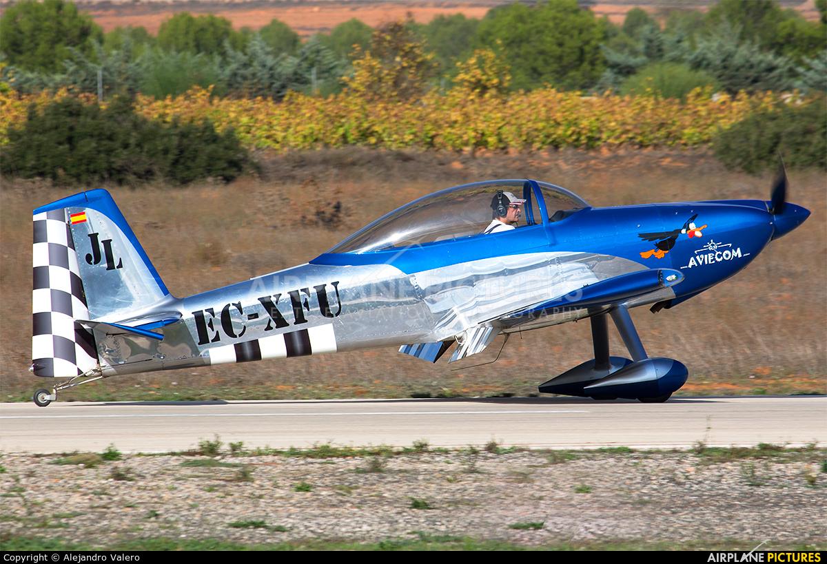 Private EC-XFU aircraft at Requena
