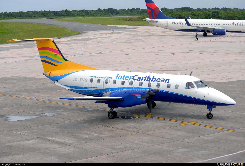 Intercaribbean Airways VQ-TVG aircraft at Santo Domingo - Aeropuerto de las Americas