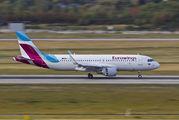 D-AEWB - Eurowings Airbus A320 aircraft