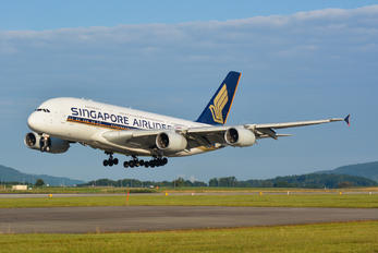 9V-SKE - Singapore Airlines Airbus A380