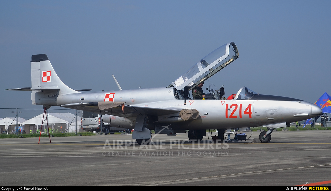 Private SP-YBC aircraft at Poznań - Ławica