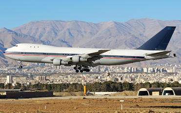 5-8103 - Iran - Islamic Republic Air Force Boeing 747-100