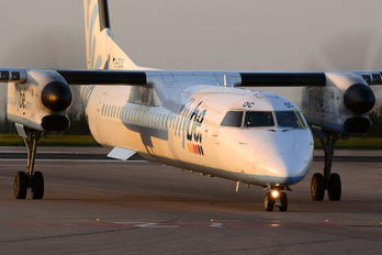 G-ECOC - Flybe de Havilland Canada DHC-8-400Q / Bombardier Q400
