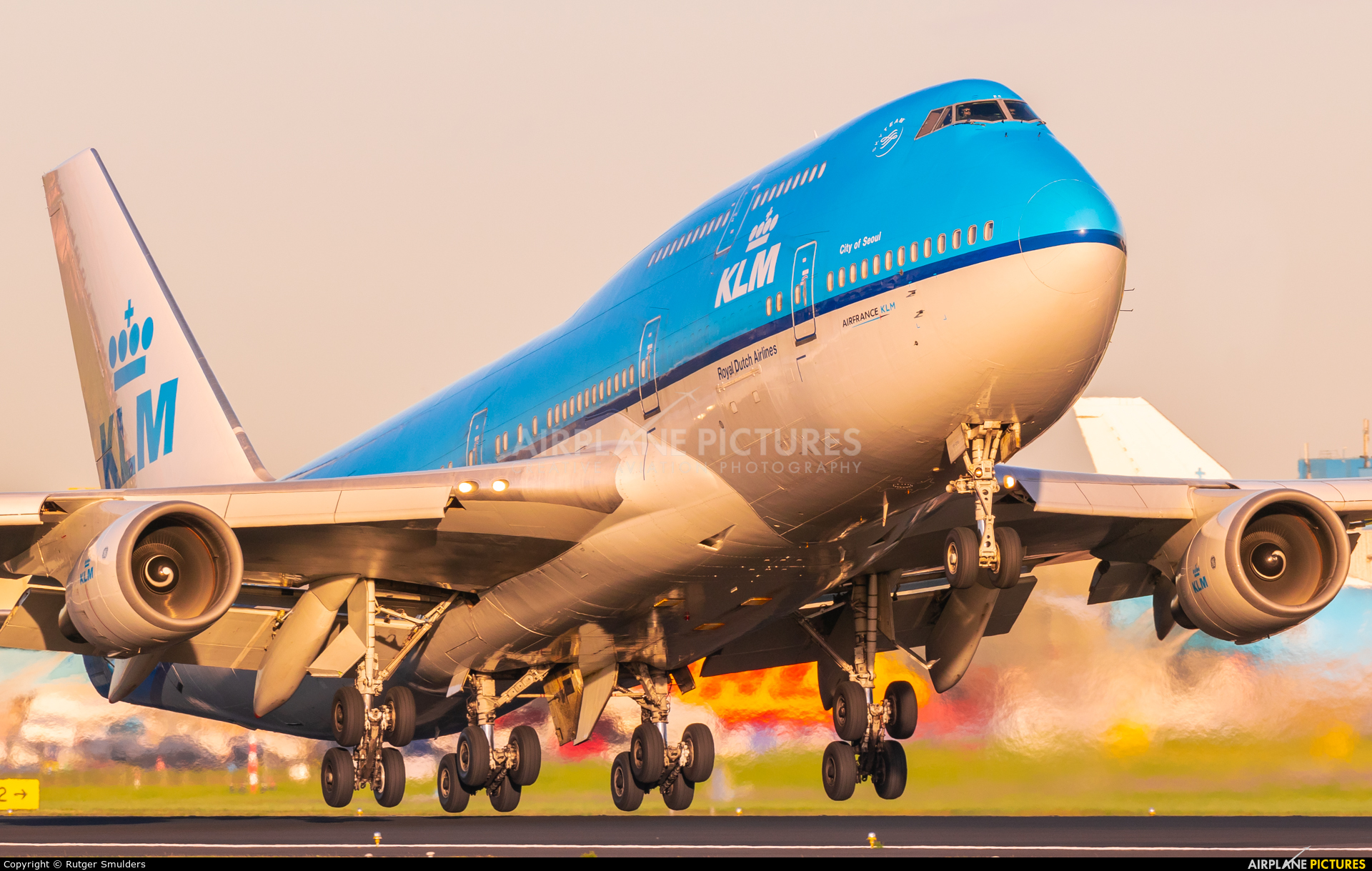 KLM Asia PH-BFC aircraft at Amsterdam - Schiphol