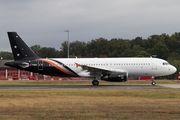 G-POWM - Titan Airways Airbus A320 aircraft