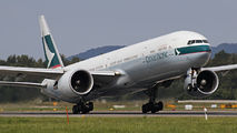 B-KPV - Cathay Pacific Boeing 777-300ER aircraft