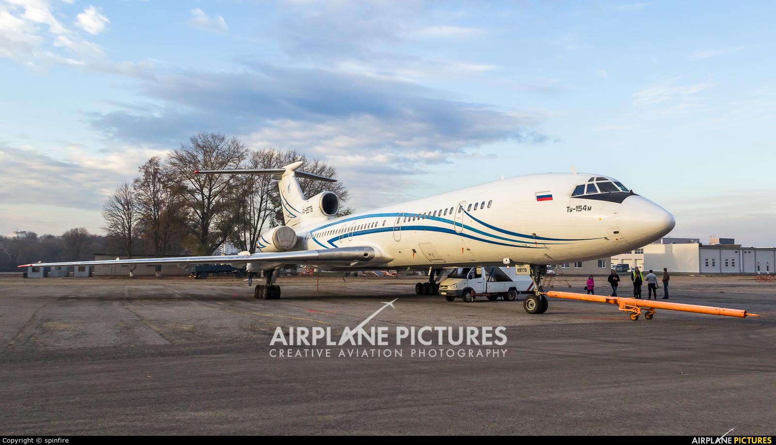Gazpromavia RA-85778 aircraft at Belgorod Intl