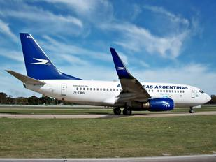 LV-CBG - Aerolineas Argentinas Boeing 737-700