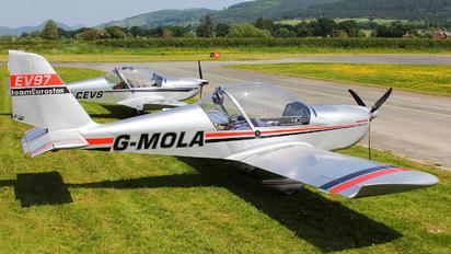 G-MOLA - Private Evektor-Aerotechnik EV-97 Eurostar