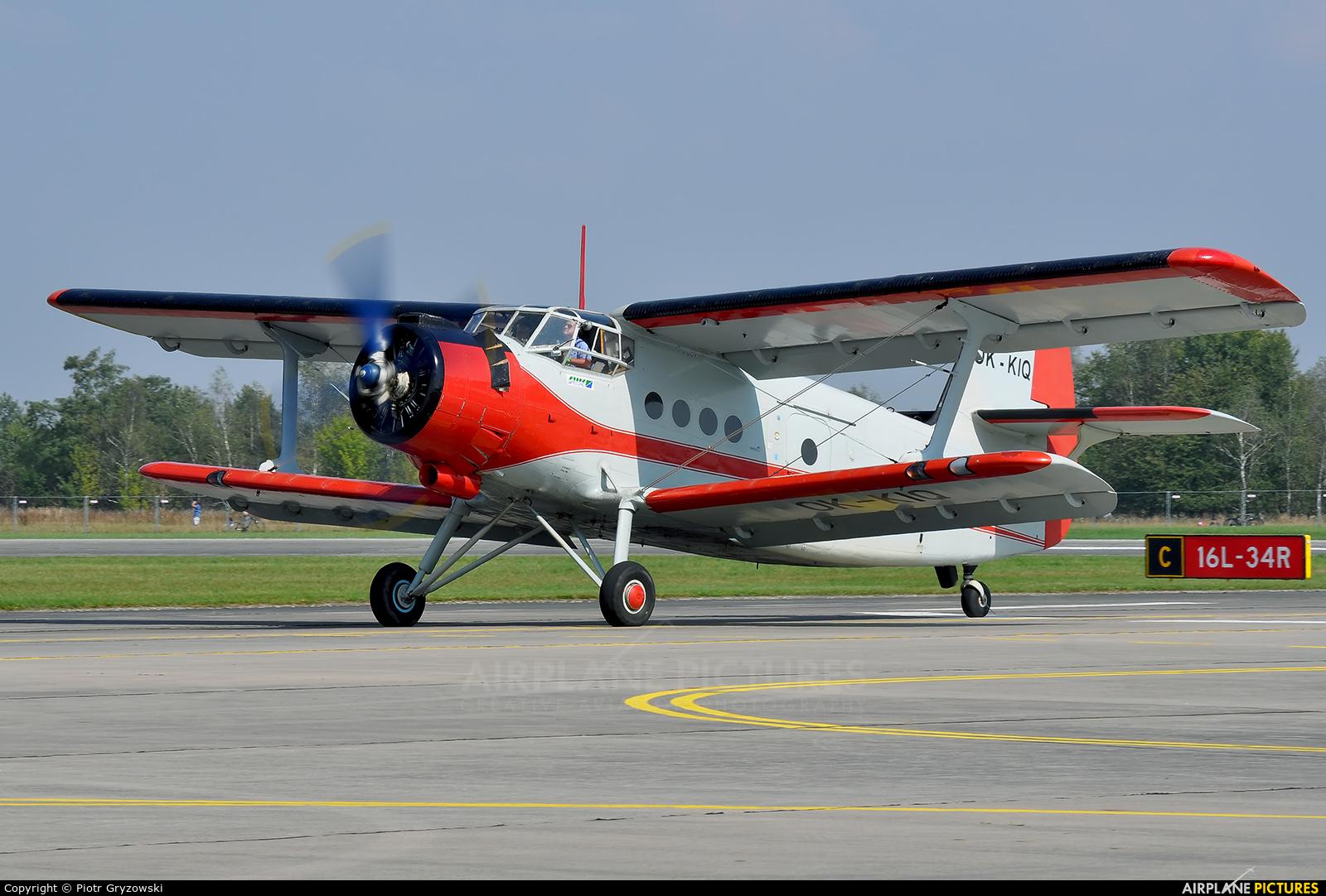 Air Special OK-KIQ aircraft at Hradec Králové