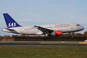 OY-KBR - SAS - Scandinavian Airlines Airbus A319 aircraft
