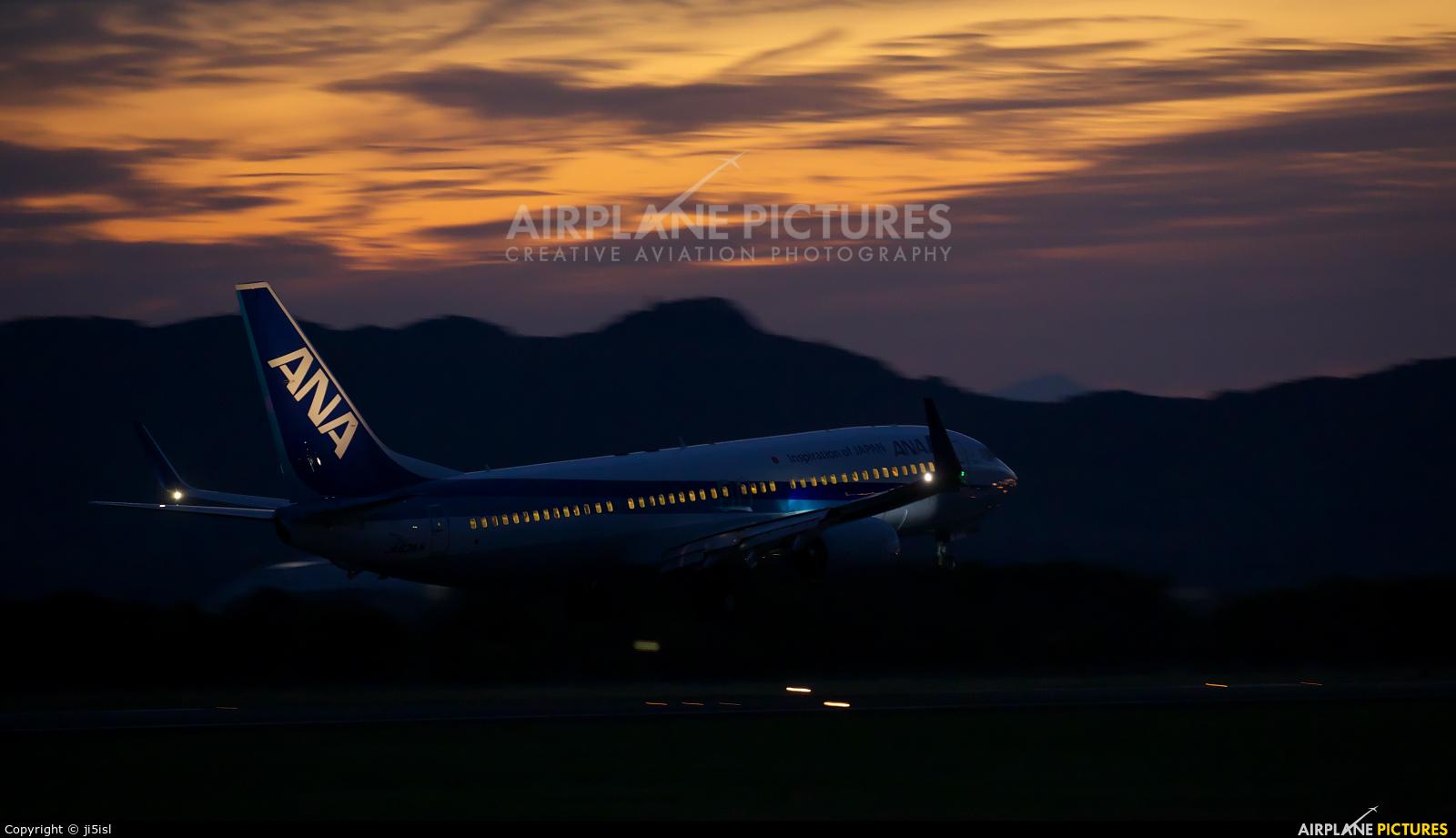 ANA - All Nippon Airways JA83AN aircraft at Kōchi