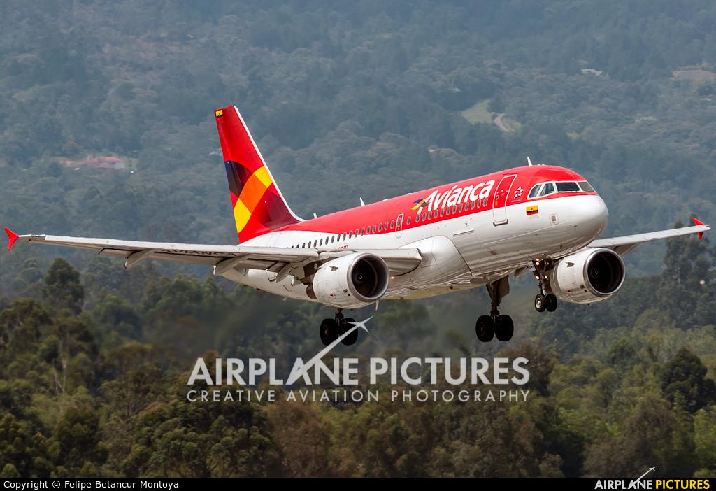 Avianca N647AV aircraft at Medellin - Jose Maria Cordova Intl