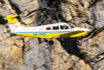 HB-PPG - Flugschule Grenchen Piper PA-28 Warrior