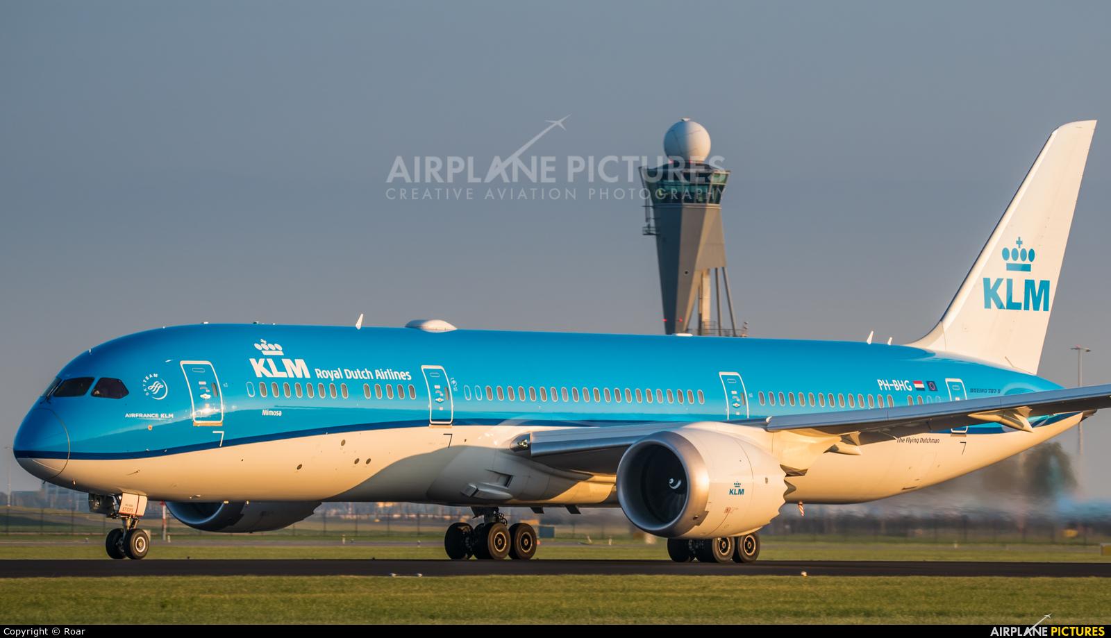 KLM PH-BHG aircraft at Amsterdam - Schiphol