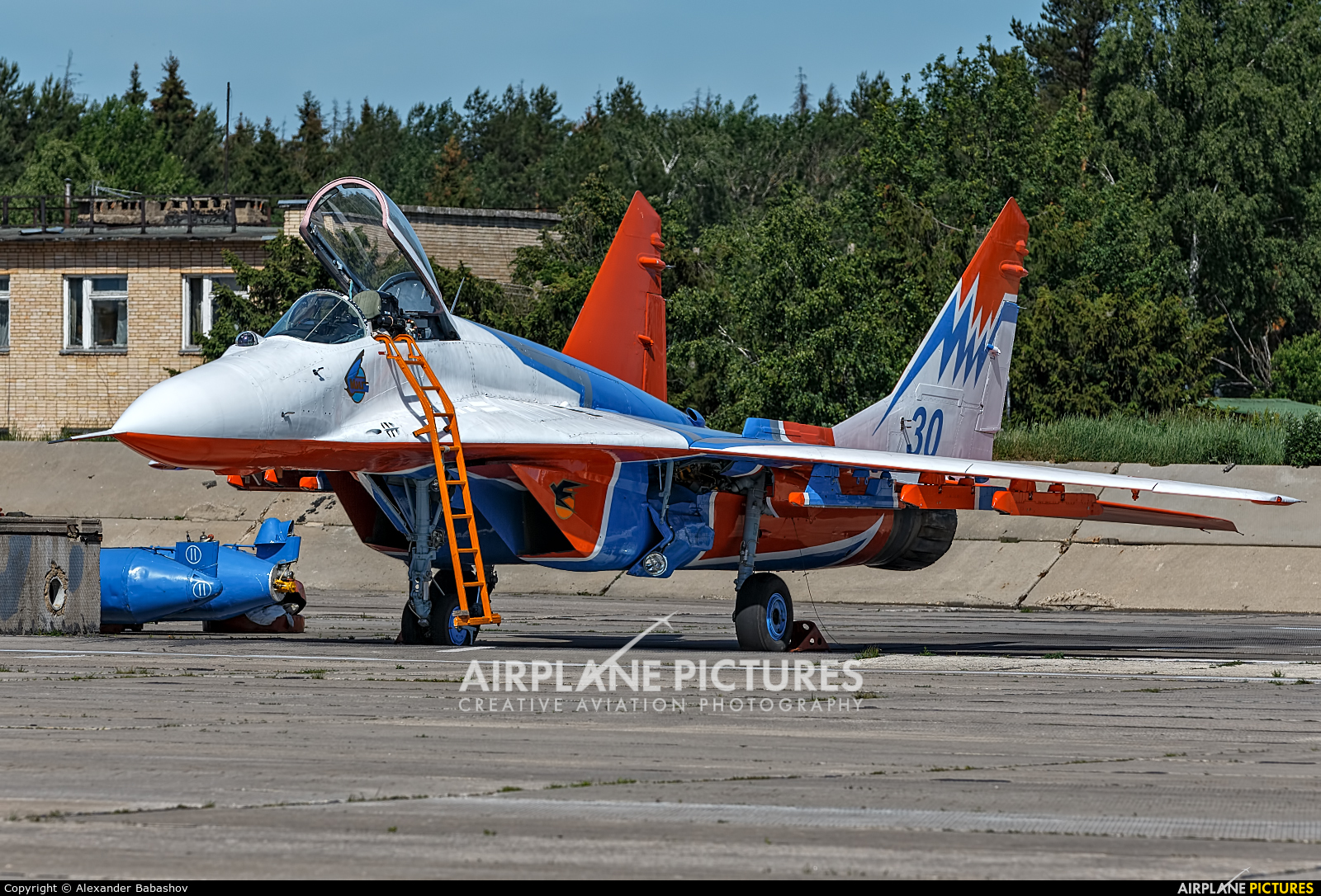 "Russia - Air Force ""Strizhi"" Mikoyan-Gurevich MiG-29 30"