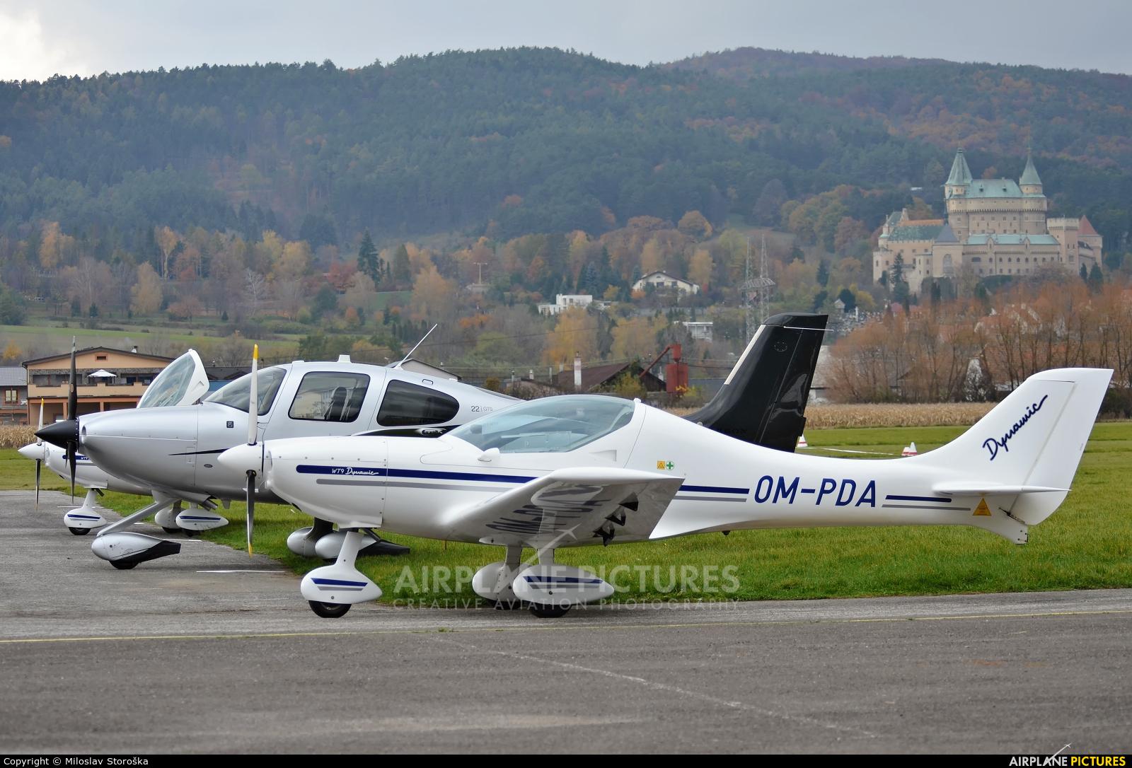 Slovensky Narodny Aeroklub OM-PDA aircraft at Prievidza