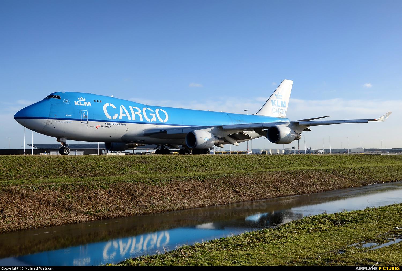 KLM Cargo PH-CKC aircraft at Amsterdam - Schiphol