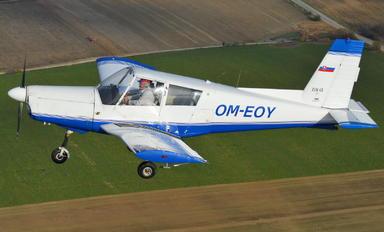 OM-EOY - Aeroklub Prievidza Zlín Aircraft Z-43