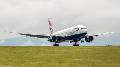 G-YMMS - British Airways Boeing 777-200
