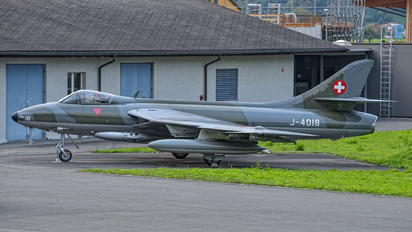 J-4018 - Switzerland - Air Force Hawker Hunter F.58