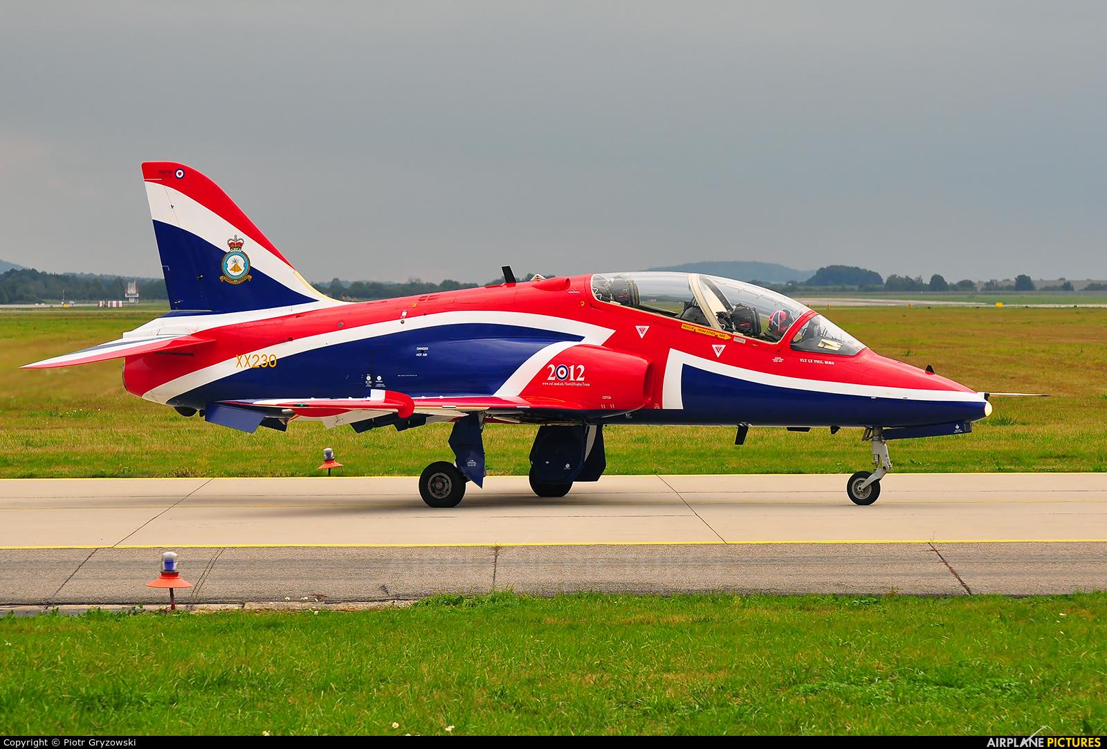 Royal Air Force XX230 aircraft at Ostrava Mošnov
