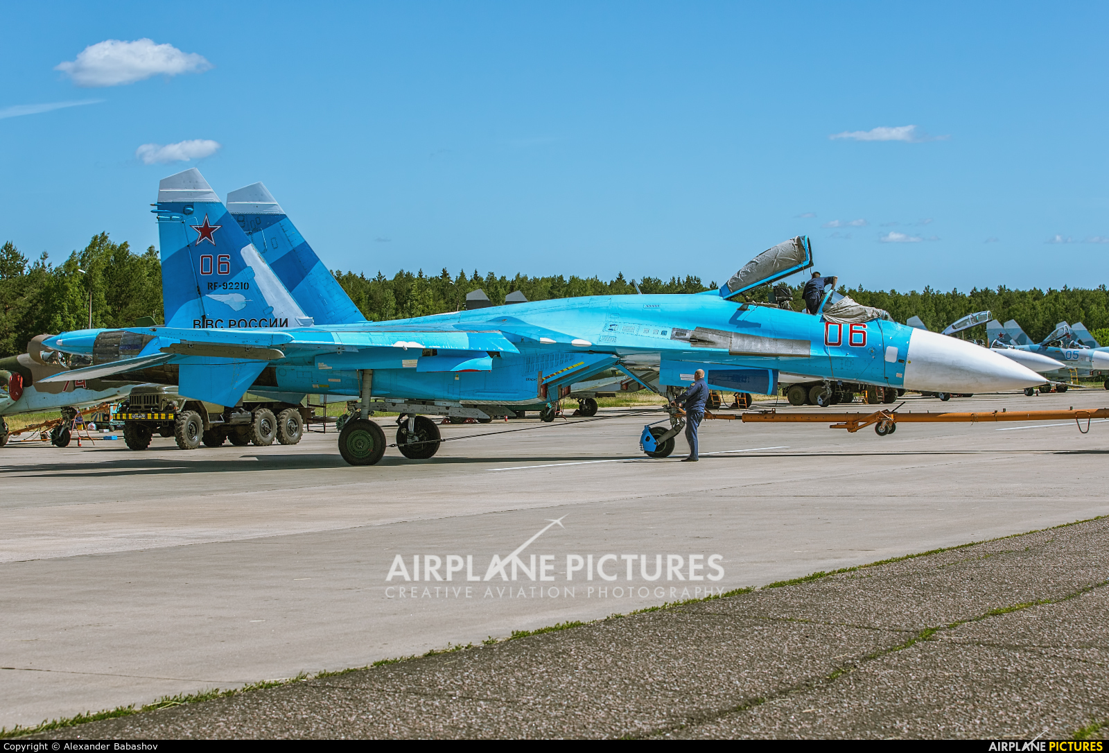 Russia - Air Force Sukhoi Su-27SM RF-92210