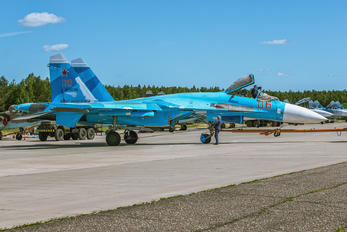 RF-92210 - Russia - Air Force Sukhoi Su-27SM
