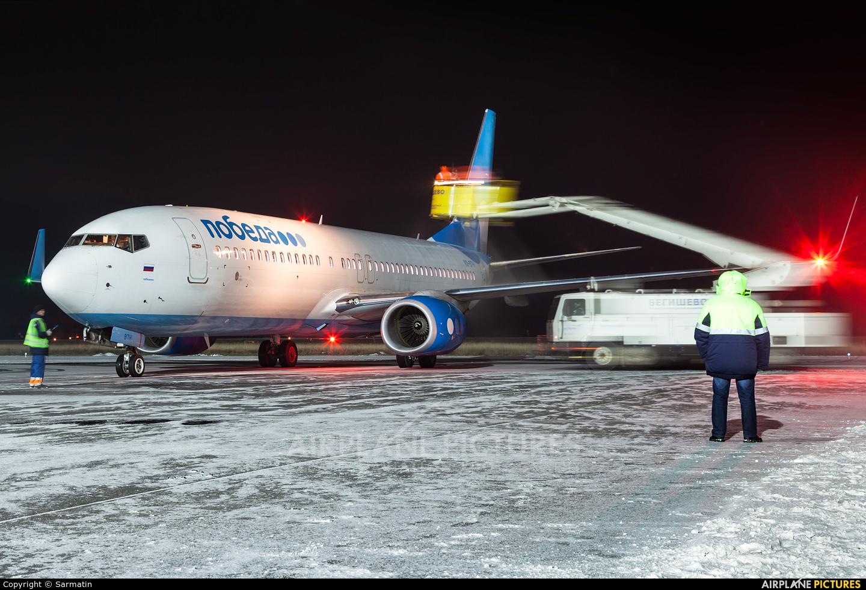 Pobeda VQ-BTH aircraft at Begishevo