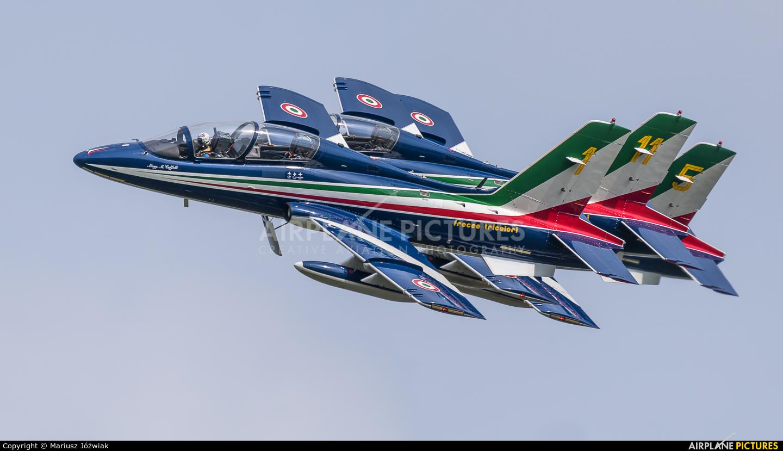 "Italy - Air Force ""Frecce Tricolori"" 1 aircraft at Ostrava Mošnov"