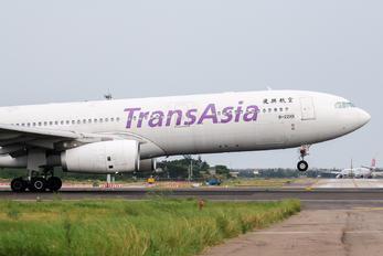 B-22101 - TransAsia Airways Airbus A330-300