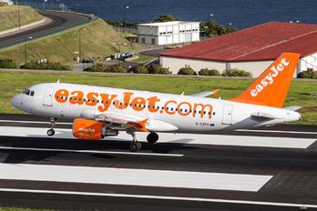 G-EZFR - easyJet Airbus A319