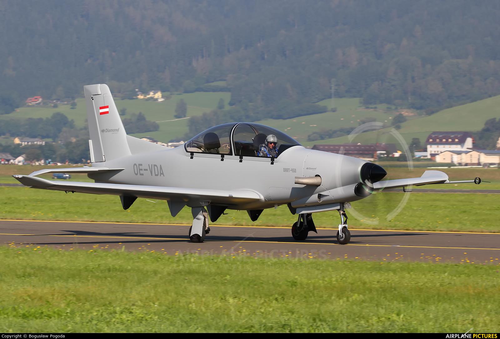 Private OE-VDA aircraft at Zeltweg