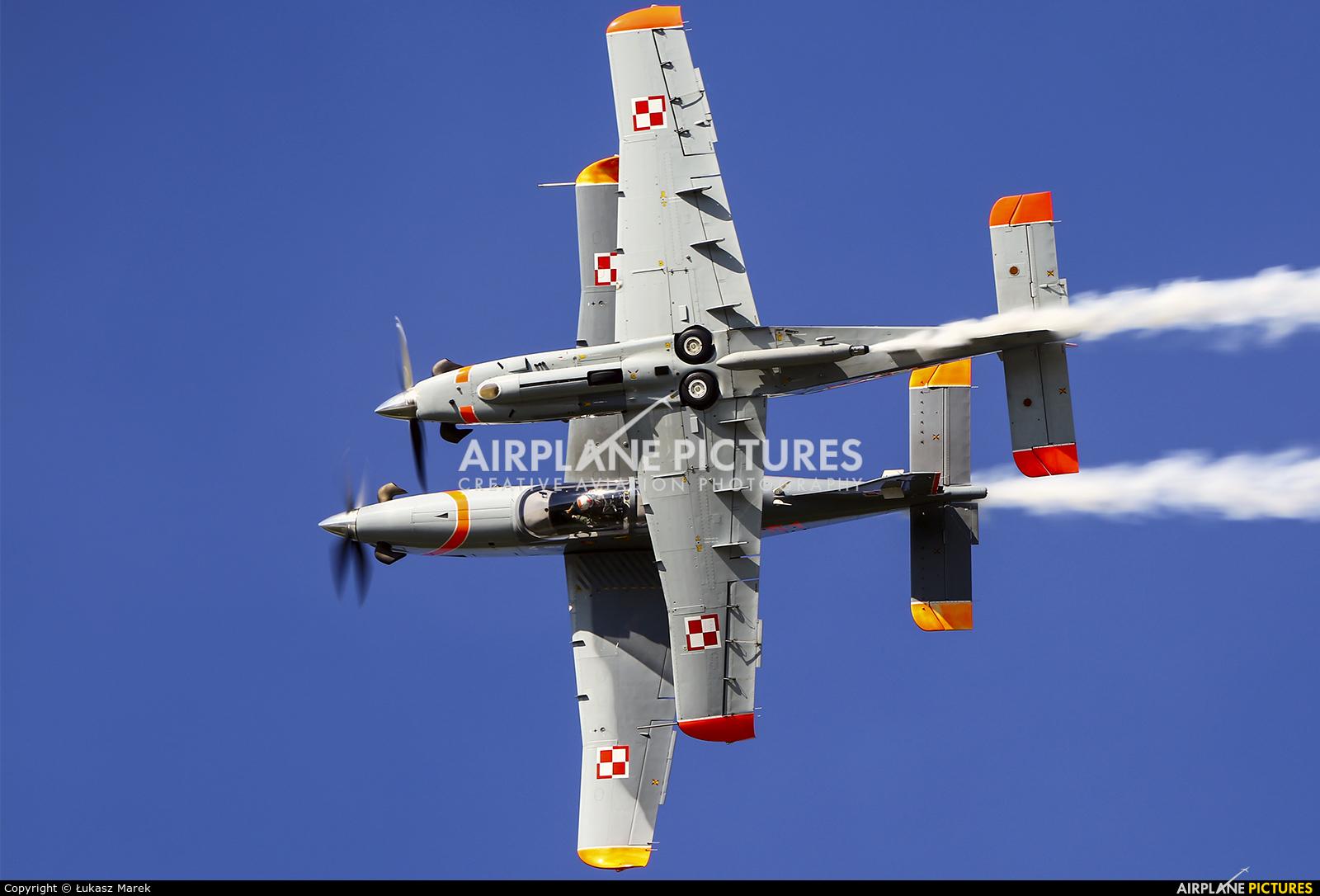 "Poland - Air Force ""Orlik Acrobatic Group"" 051 aircraft at Poznań - Krzesiny"