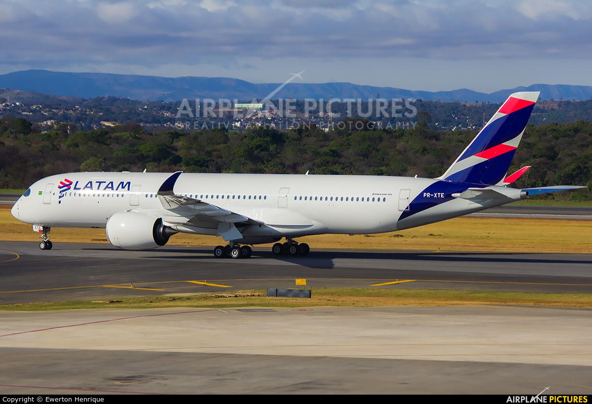 LATAM PR-XTE aircraft at Belo Horizonte - Tancredo Neves