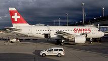 HB-IPT - Swiss Airbus A319 aircraft