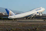 N120UA - United Airlines Boeing 747-400 aircraft