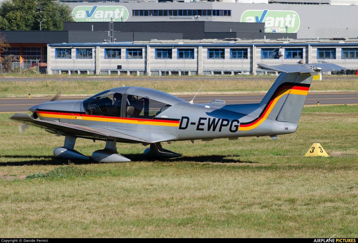 Private D-EWPG aircraft at Bolzano