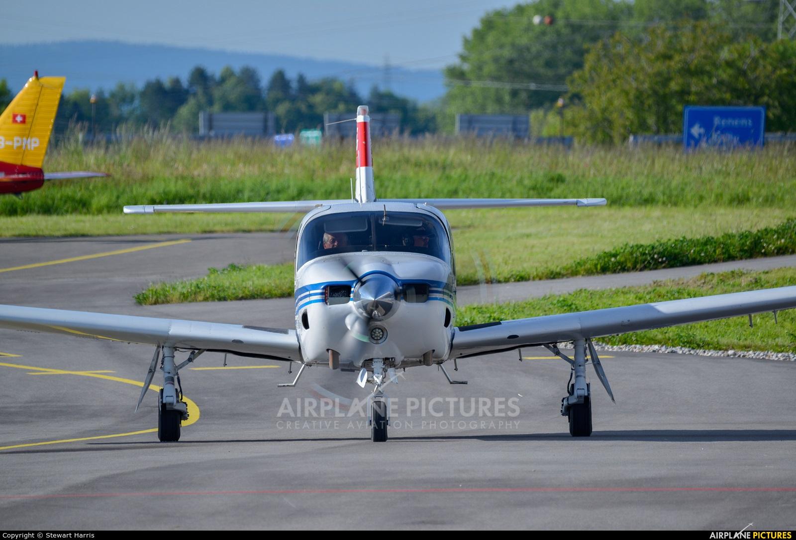 Private HB-NCI aircraft at Lausanne - La Blécherette
