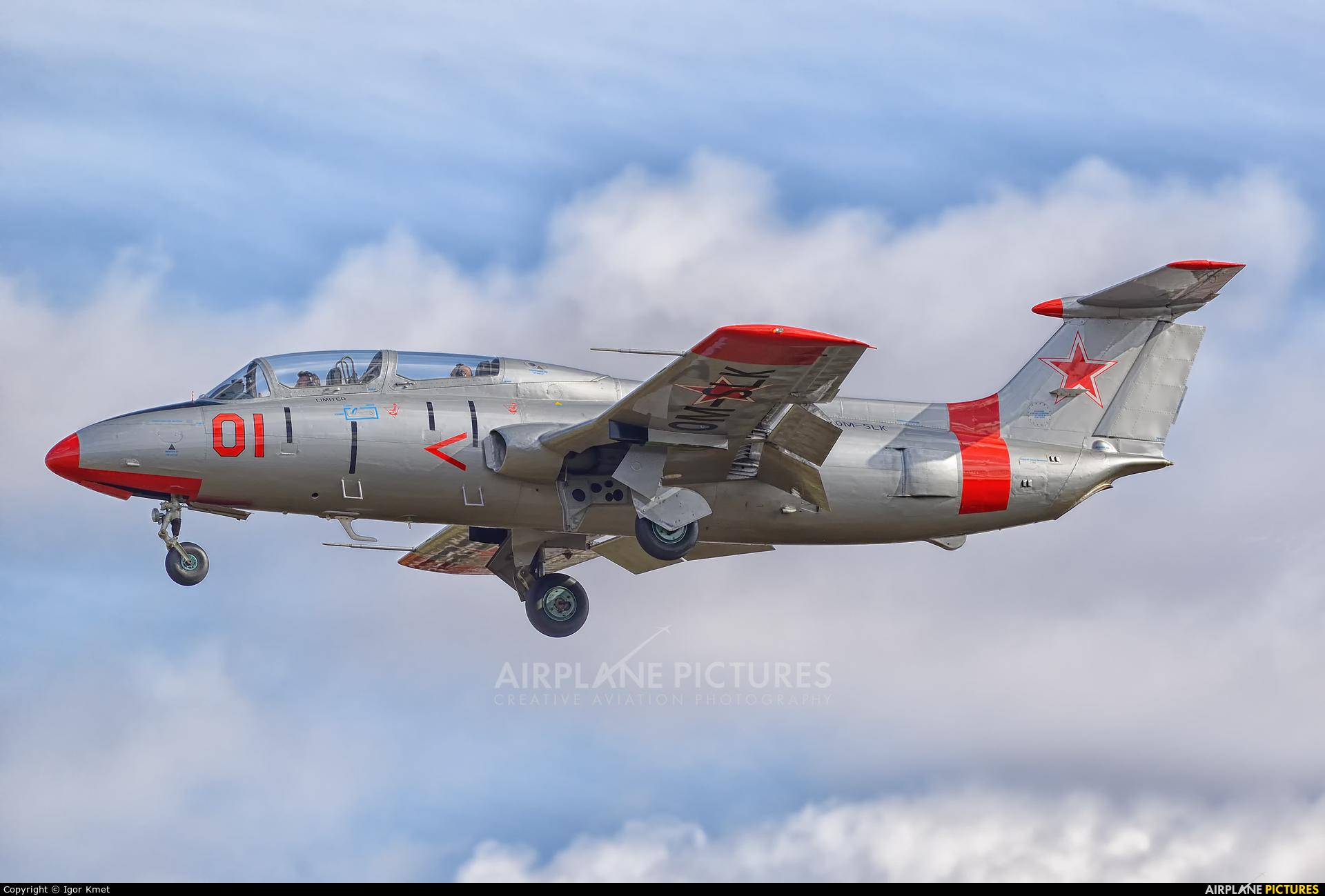 Private OM-SLK aircraft at Sliač