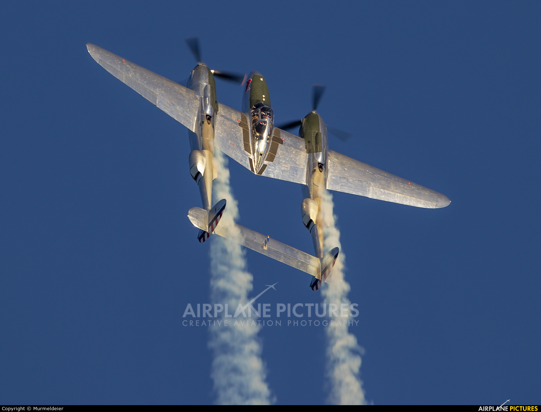 The Flying Bulls N25Y aircraft at Leopoldsburg - Beverlo