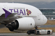 HS-TUE - Thai Airways Airbus A380 aircraft