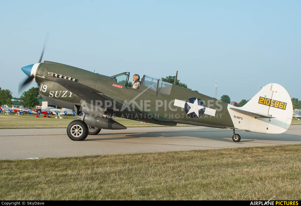 Private NL49FG aircraft at Oshkosh - Wittman Regional