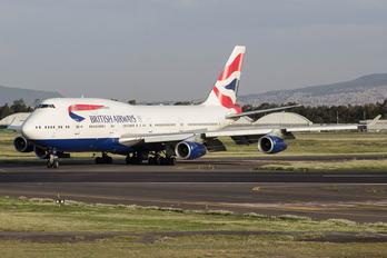 G-CIVT - British Airways Boeing 747-400