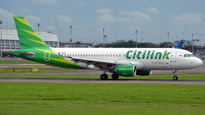 PK-GLO - Citilink Airbus A320