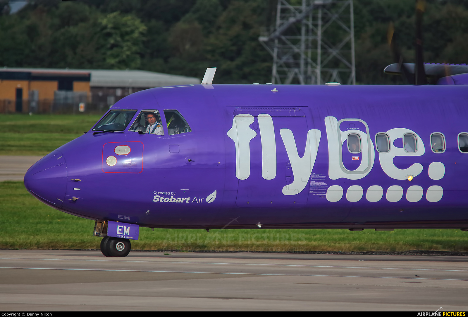 Flybe EI-REM aircraft at Manchester