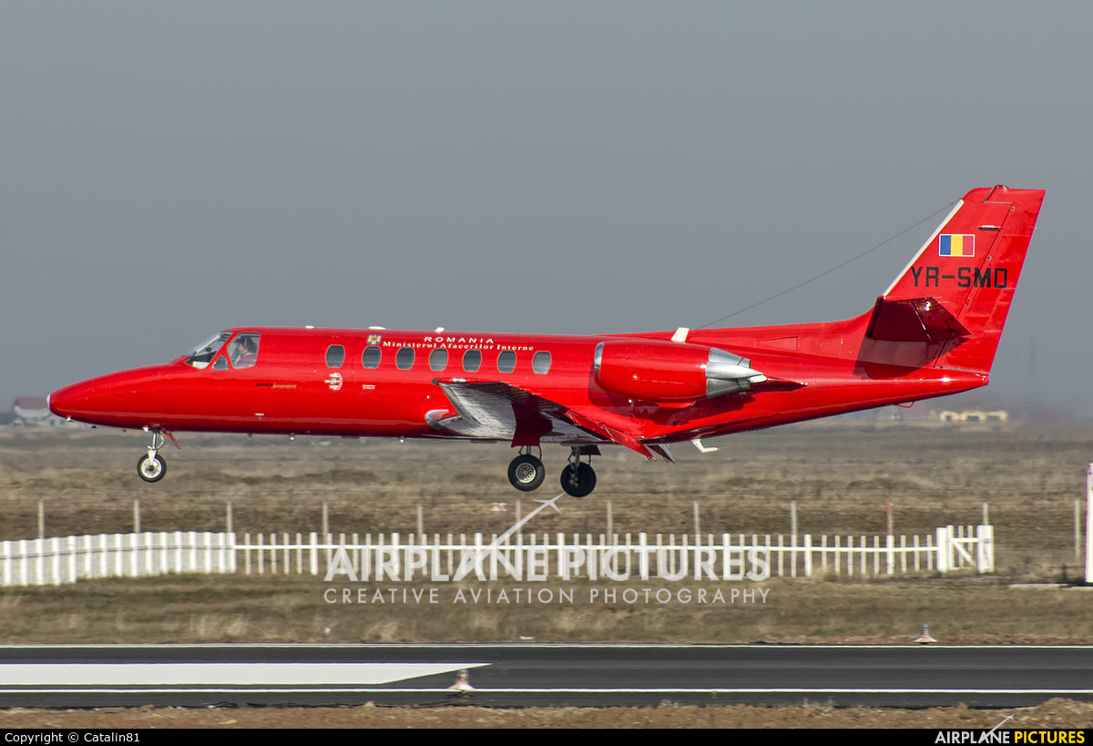 SMURD YR-SMD aircraft at Craiova