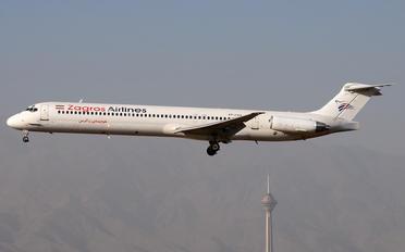 EP-ZAQ - Zagros Air McDonnell Douglas MD-83