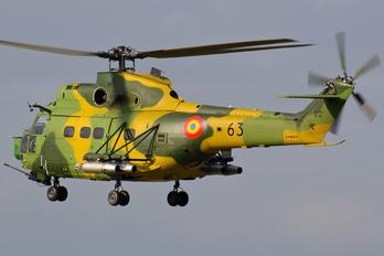 63 - Romania - Air Force IAR Industria Aeronautică Română IAR 330L-Socat Puma