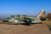 047 - Bulgaria - Air Force Sukhoi Su-25UBK aircraft